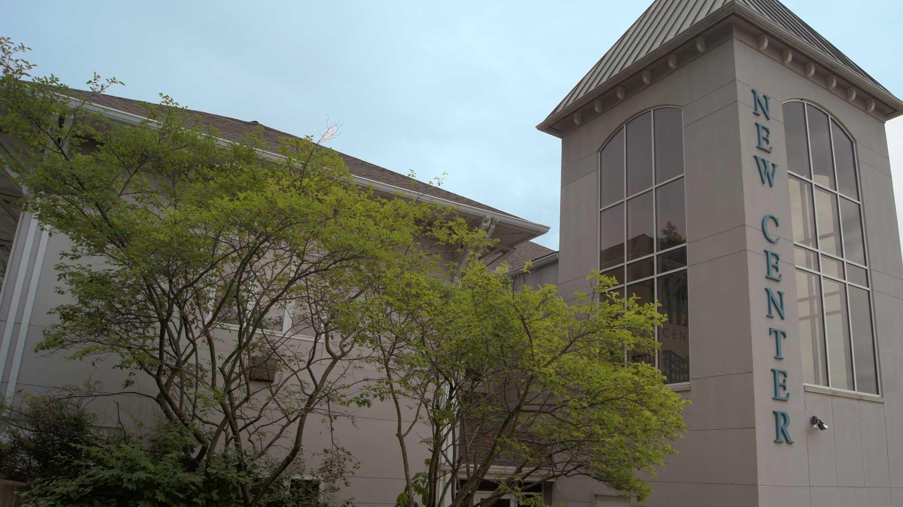 NEW building exterior